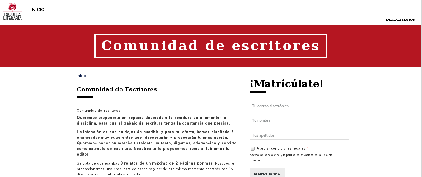 Desarrollo de páginas web: aula virtual