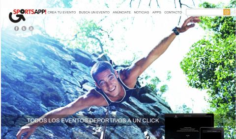 Desarrollo de páginas web: sitio web de agenda de eventos deportivos